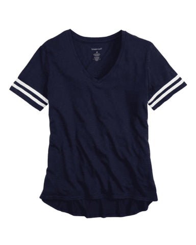 Hitters Spangled Sporty Slub Tee (Navy or White)