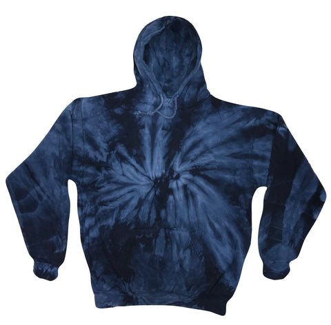 WAYHA Spangled Navy Youth Tie Dye Hoodie