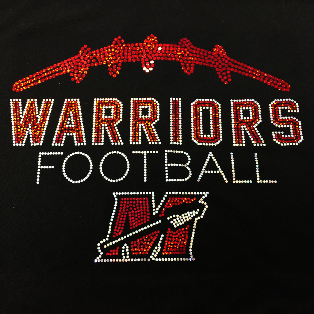 Muskego Warriors Football THIN Hoodie