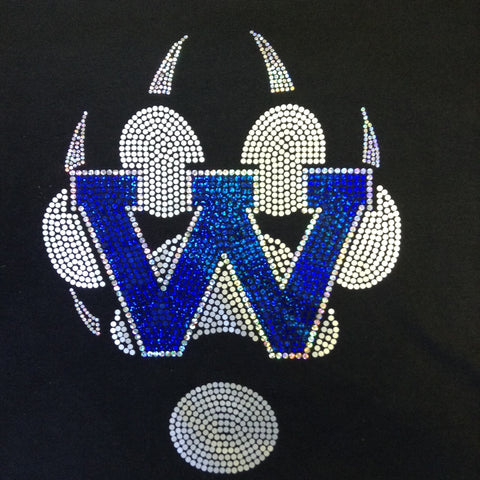 Waukesha West Spangle Paw Hoodie