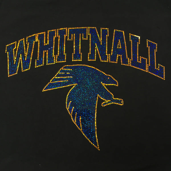 Whitnall Sparkle SPANGLE Hooded Sweatshirt