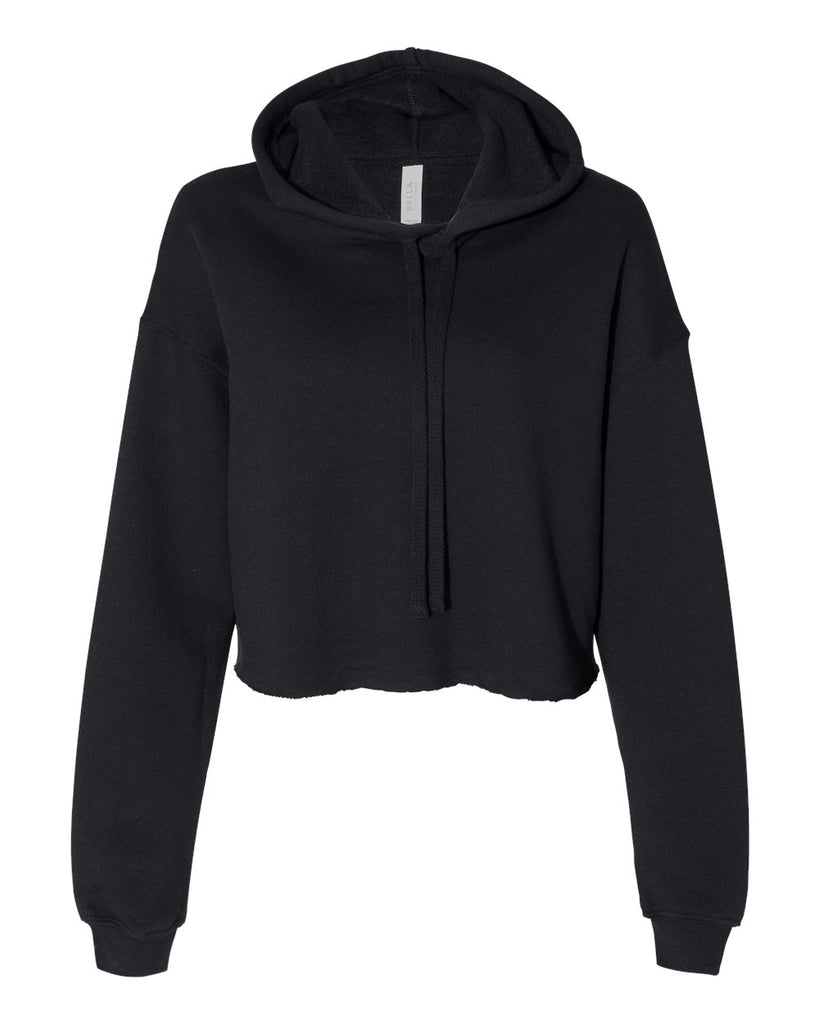 Salto Spangled Women's Cropped Fleece Hoodie