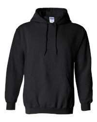WCYHA Spangled Black Hooded Sweatshirt