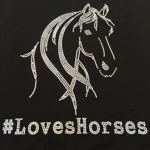 #loveshorses with Silhouette