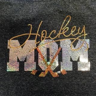 Waukesha Winter Classic Sparkle Spangle MOM Hoodie