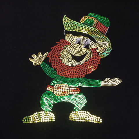 St. Patrick's Day Leprechaun Spangle