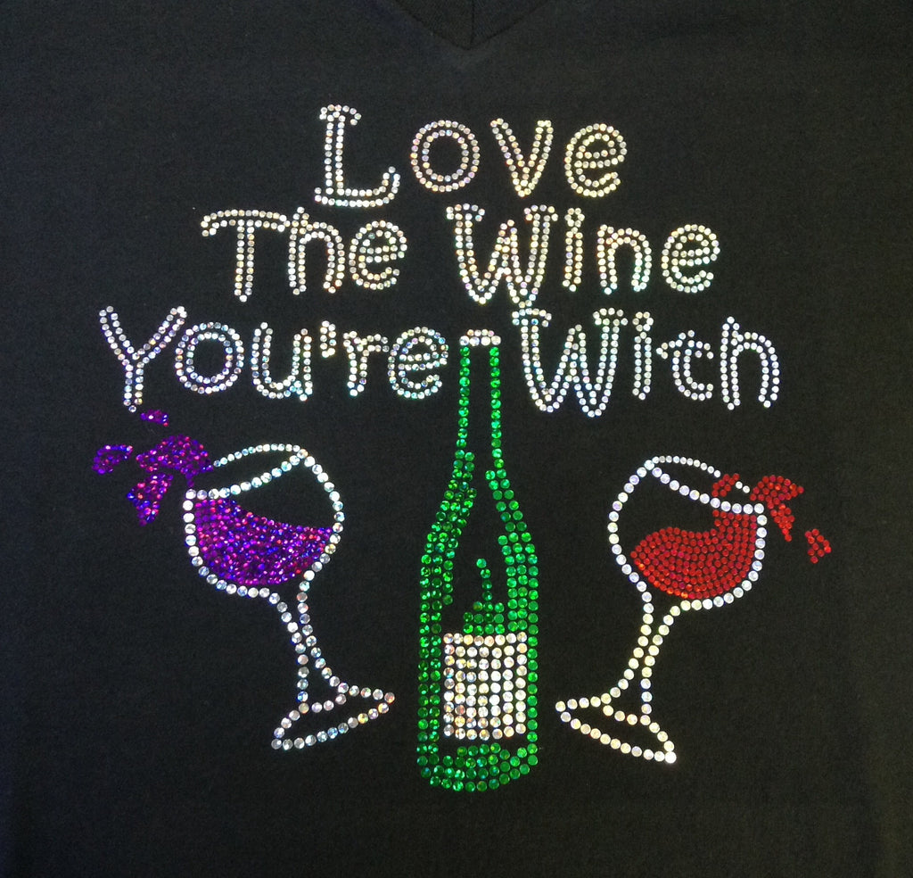 Love the Wine You're With V-neck T-shirt