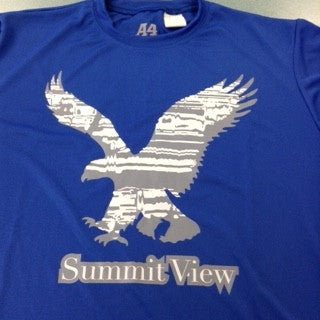 Summit View Boys/Mens Long Sleeve Performance Tee