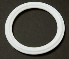 PTFE, Silicone and Buna-N Clamp Gaskets - White
