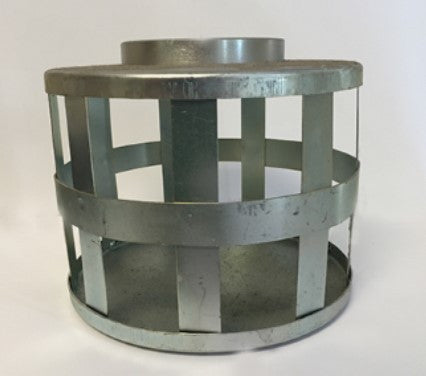 Suction Strainers - Galvanized Steel Square Hole Strainers