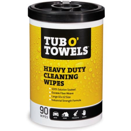 Heavy-Duty Cleaning Wipes - 90-Count