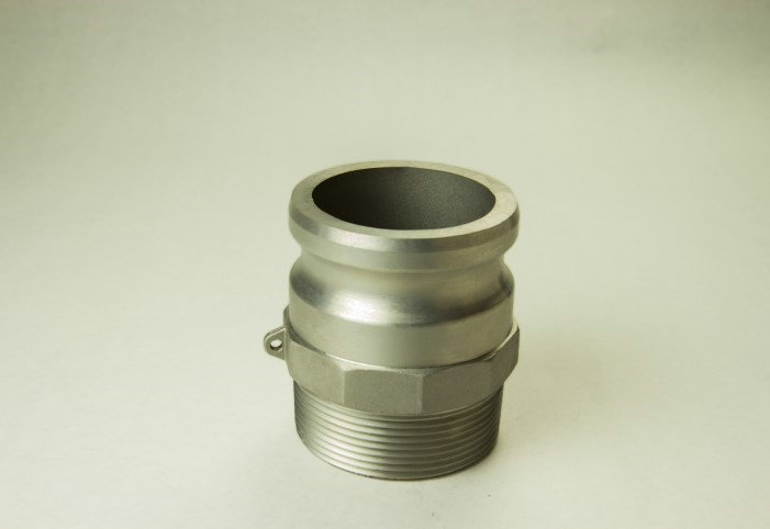 Aluminum Bulk Cam and Groove Fittings Adapter X Male NPT - Part F