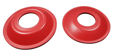 Pump Diaphragms and Red Natural Rubber Diaphragm for Mud Hog Pump