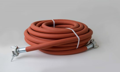 Continental ContiTech Contractor Air Hoses - 300 PSI Jackhammer Hose with Air King Couplings