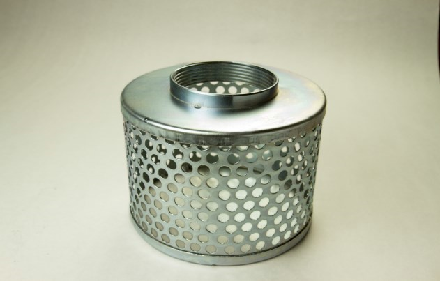Suction Strainers - Galvanized Steel Round Hole Strainers