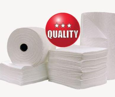 Oil-Only Absorbent Pads - 100 Pack
