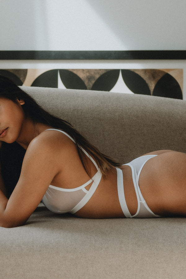 Caden Bra in White