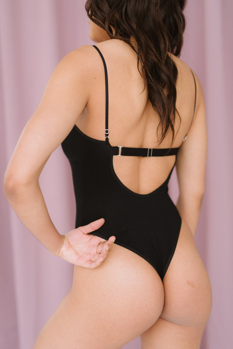 Terah Bodysuit in Black