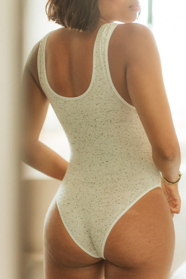 Lani Bodysuit in Speckled