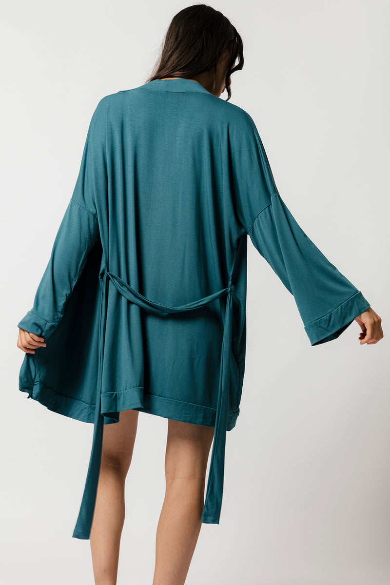 Oli Robe in Teal