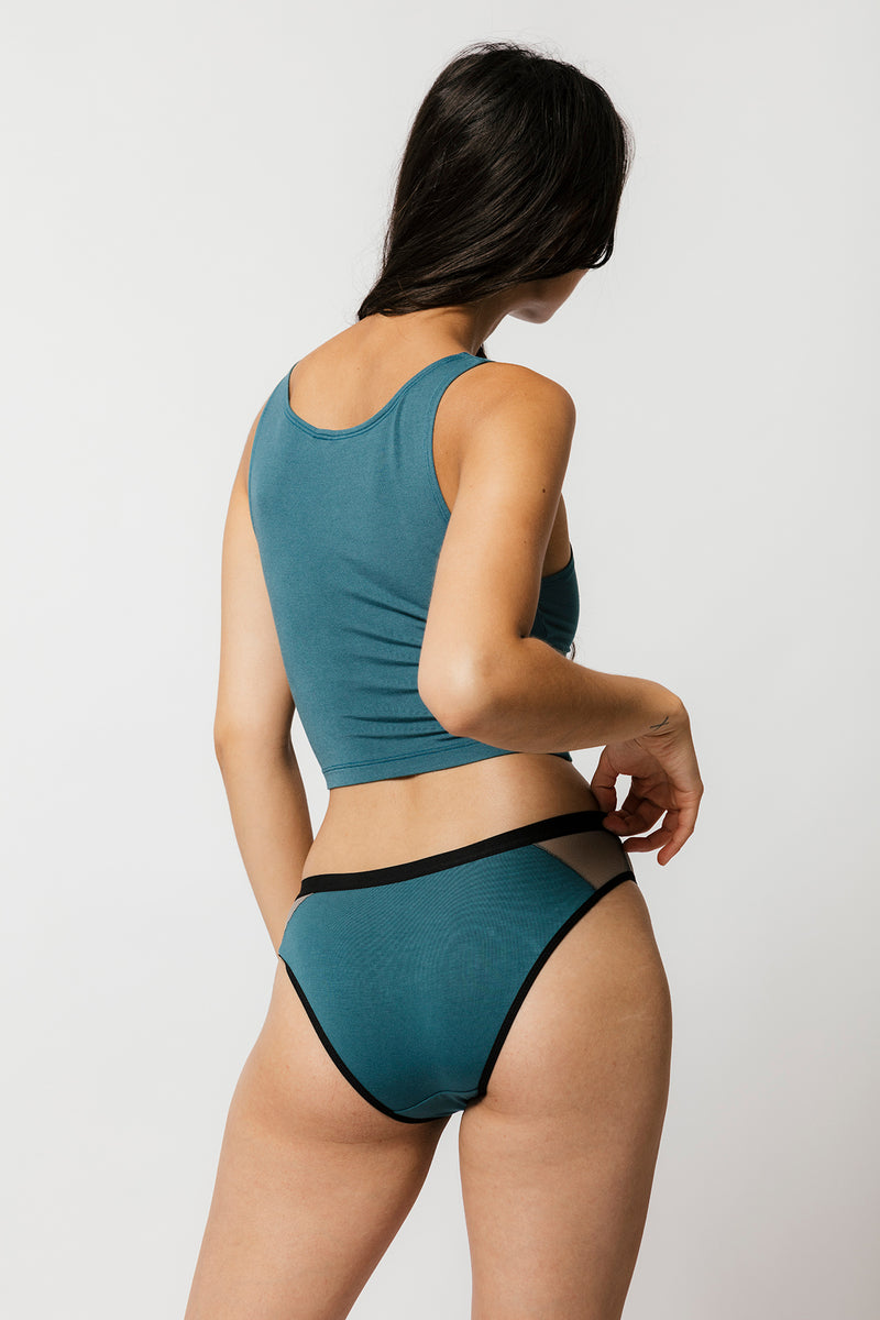 Tory Brief in Teal
