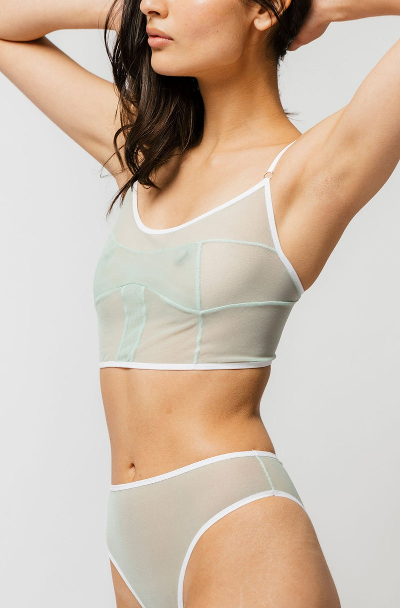 Dia Bra in Mint