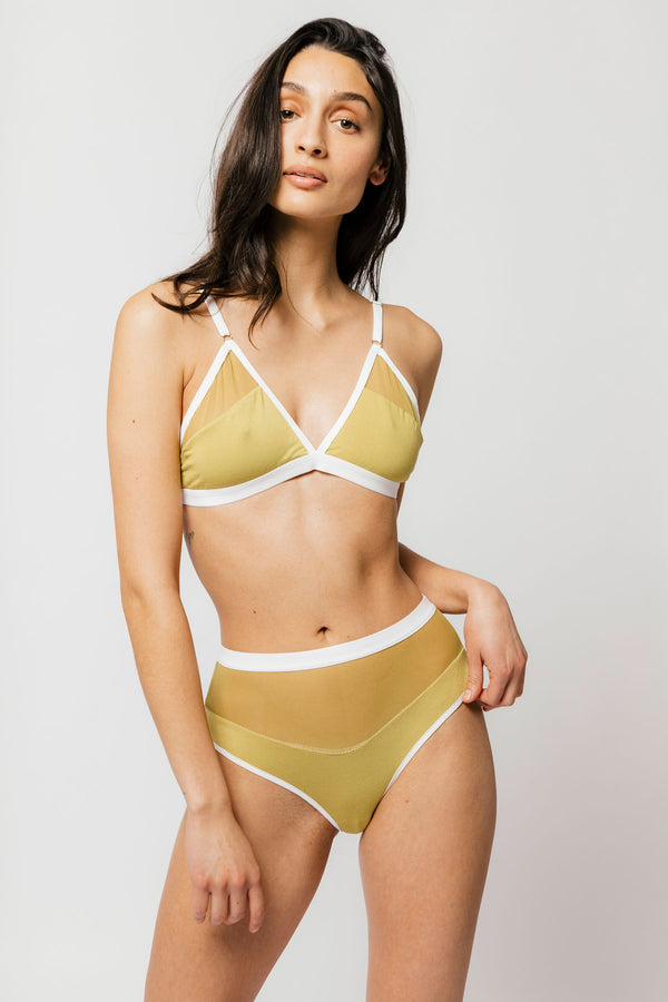 Logan Bra in Matcha