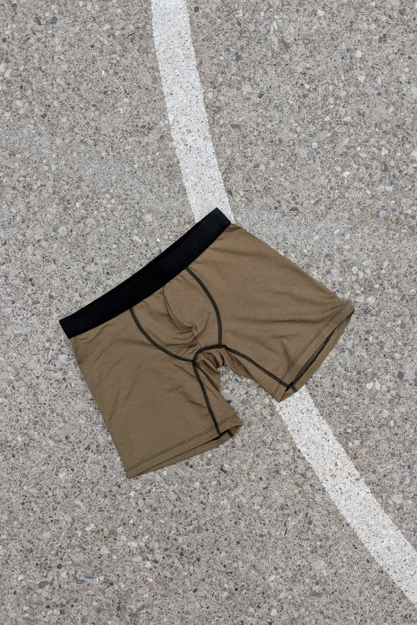 Boxer Briefs in Olive