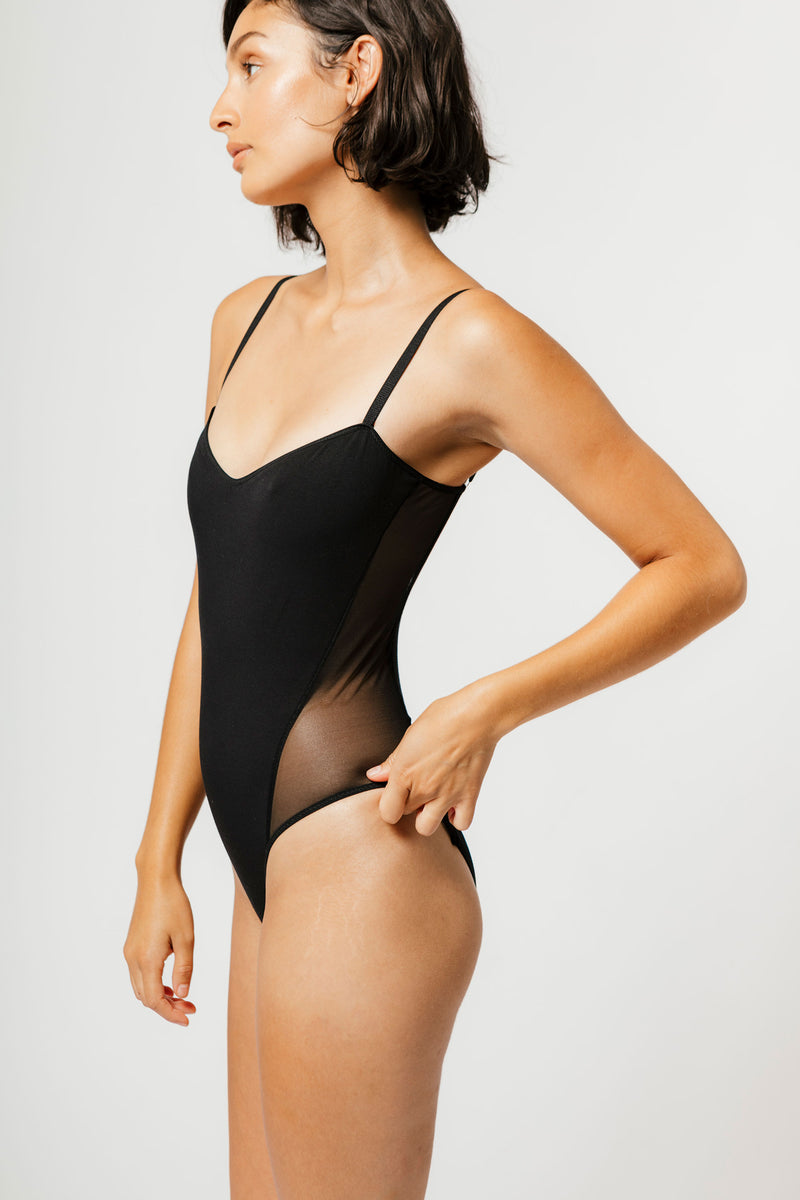 Dorian Bodysuit in Black