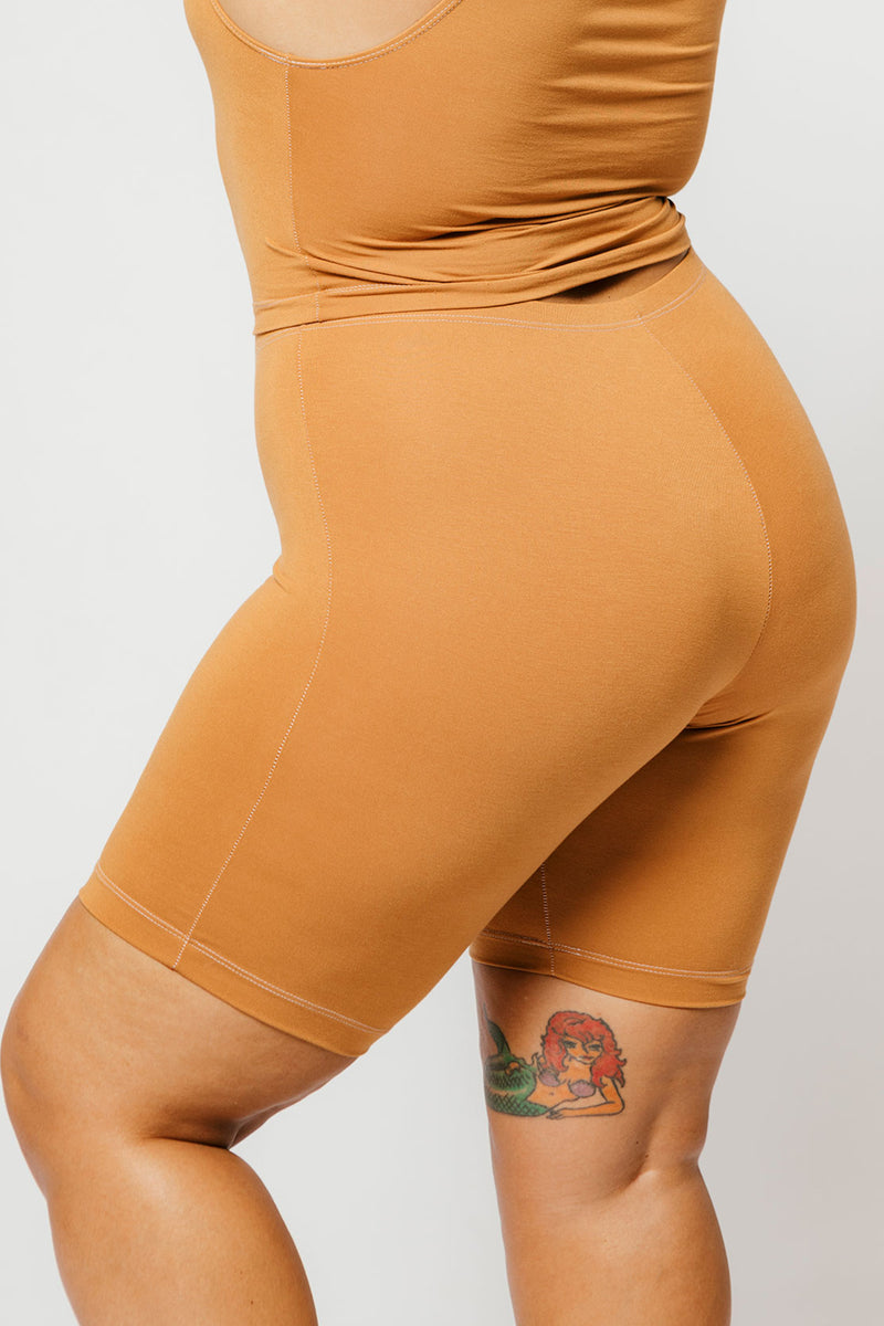 Ferris Short in Caramel