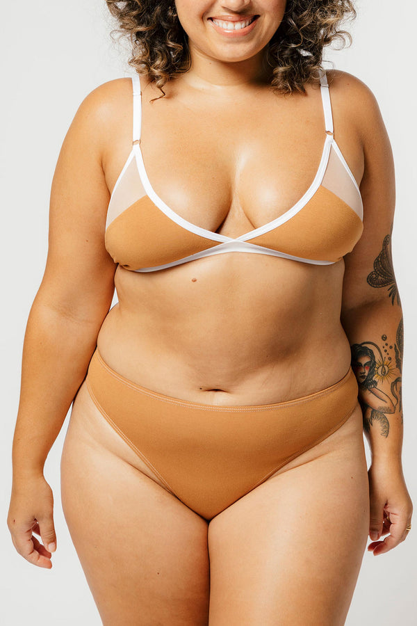 Logan Bra in Caramel