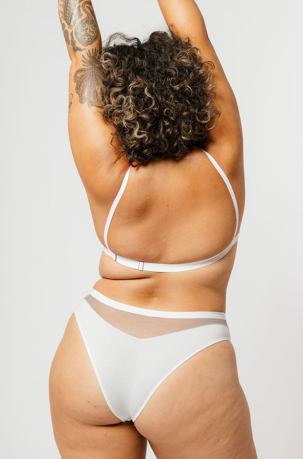 Low Rise Logan Bikini in Concrete