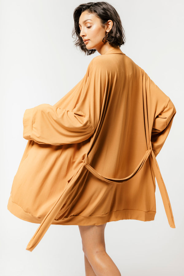 Oli Robe in Caramel