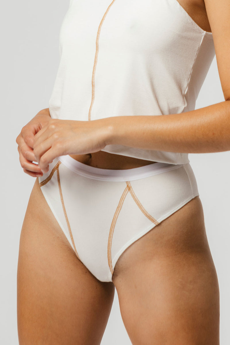 Ryder Brief in Cream