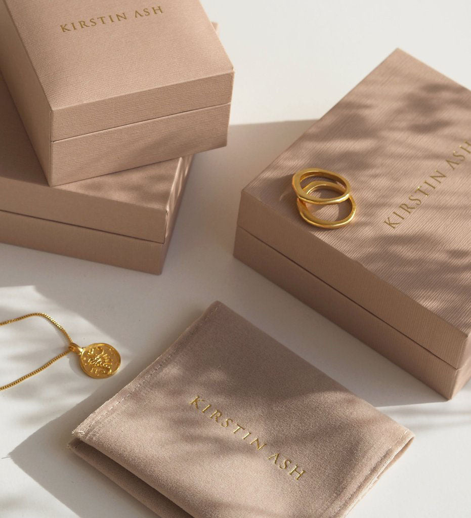 Voyager Coin Hoops - Gold
