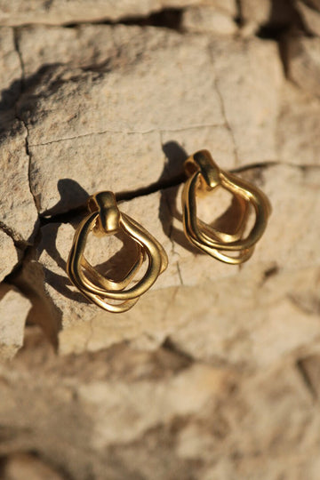 Botanica Earrings - Gold