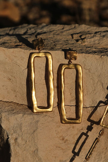 Elements Earrings - Gold