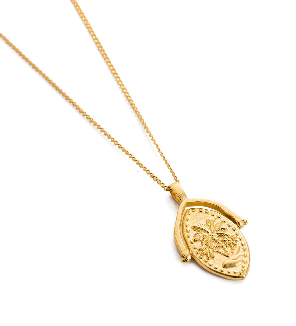 Oasis Spinner Necklace - Gold