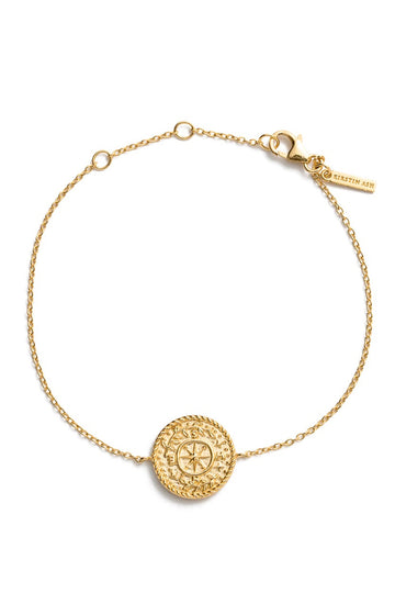Treasure Coin Bracelet - Gold