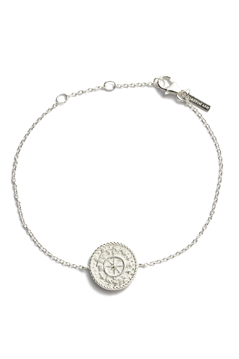 Treasure Coin Bracelet - Silver