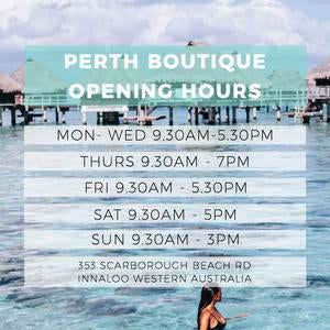 Showroom Hours! | Turquoise Lane