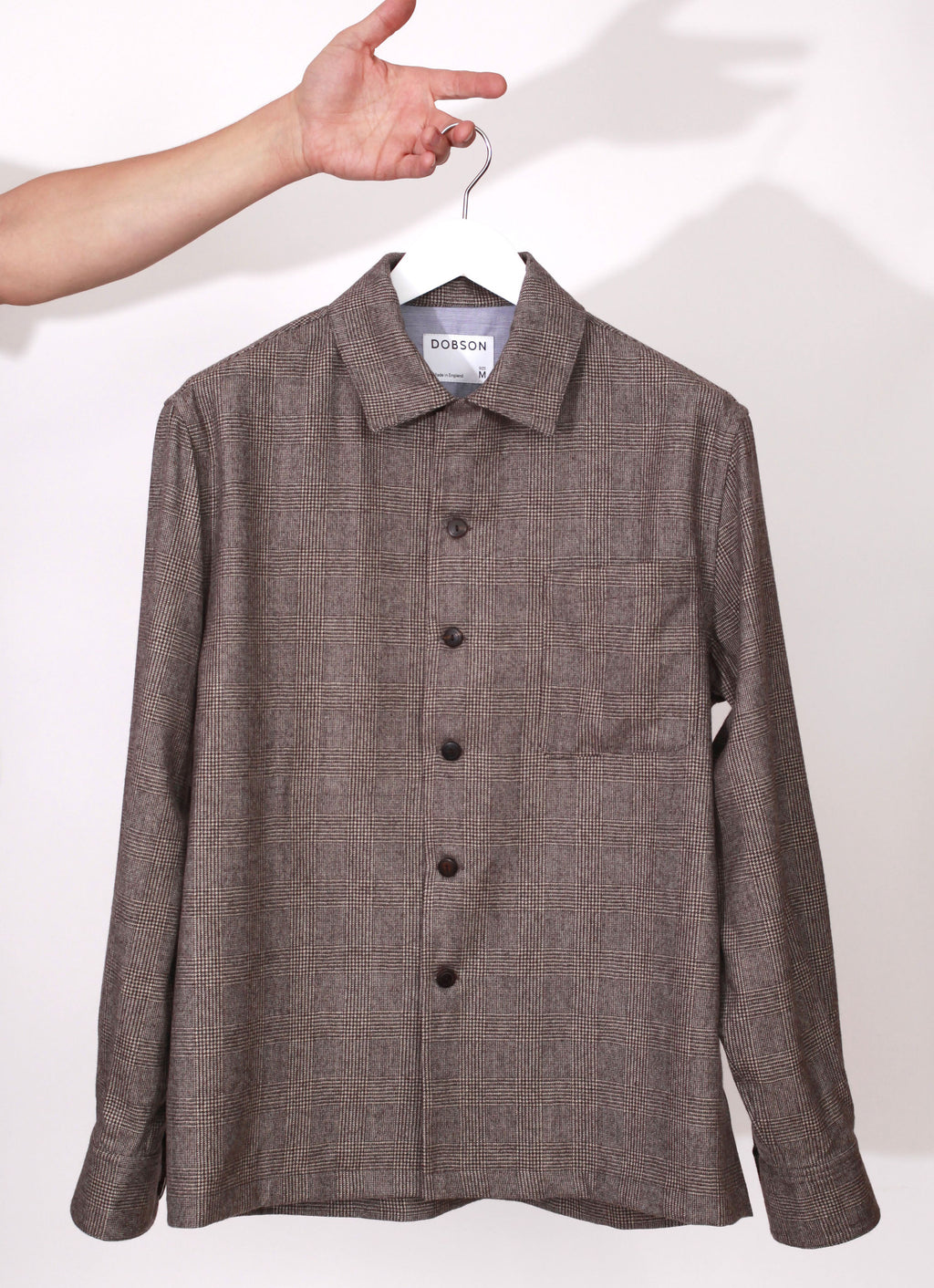 The original over-shirt - Brown check