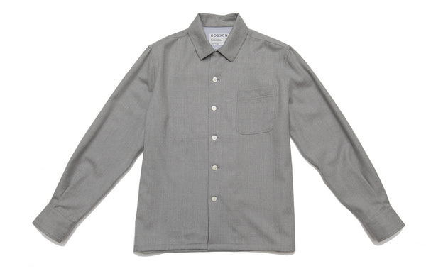 The original over-shirt - Grey marl