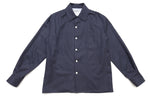 The original over-shirt - Navy marl