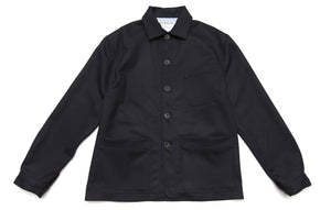 The wool work-jacket - Navy