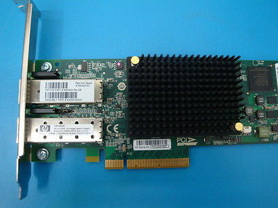 HP CN1000E 10GbE PCI-e Dual Port Converged Network Adapter
