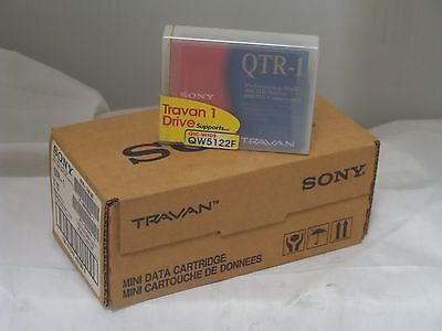 NEW Sony QTR-1 Travan  Mini Data Cartridge Pack of 10 in original box - Micro Technologies (yourdrives.com)