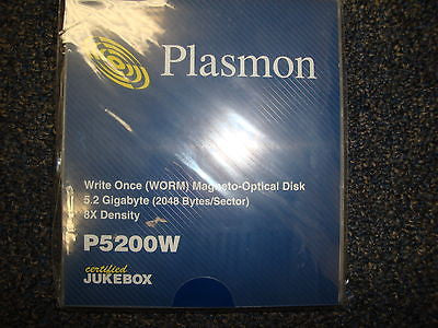 Plasmon P5200W 5.2GB WORM Media NEW Sealed same as CWO-5200C - Micro Technologies (yourdrives.com)