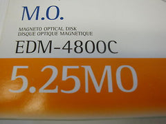 5 Pieces Sony MO Media  4.8GB RW 5.25'' 1024 b/s Optical Disk EDM-4800C - Micro Technologies (yourdrives.com)