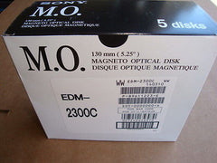 Sony EDM-2300C 5 Pack Box 2.3GB RW Optical Disk 512 B/S NEW Factory Sealed - Micro Technologies (yourdrives.com)